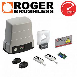SET BH30/606/HS - ROGER Brushless High speed pohony posuvných bran do 600kg (Pohon pro posuvnou brán